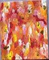 Goldregen;Acryl;Blattgold;30x24