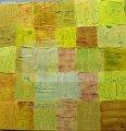 Liebe;Acryl3D mit_Mosaiken_ und verschiedenen_Techniken;60x60